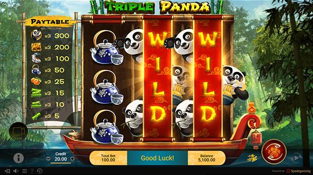Triple Panda   Game Guide   SG Slot   Asia Top Online Slot Games